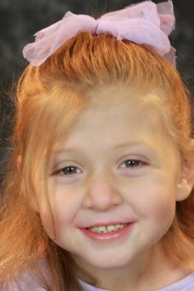 Smiling and healthy - Jada's preschool photo
